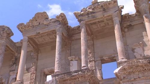 Havalar ısındı, Efes Antik Kent şenlendi