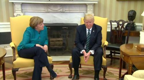 Trump'tan Merkel'e Türkiye yanıtı