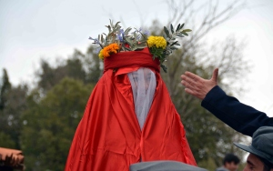 Muğlanın geleneksel köy düğünü canlandırıldı