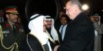 Cumhurbaşkanı Erdoğan, Kuveyt Emiri el Sabahı karşıladı