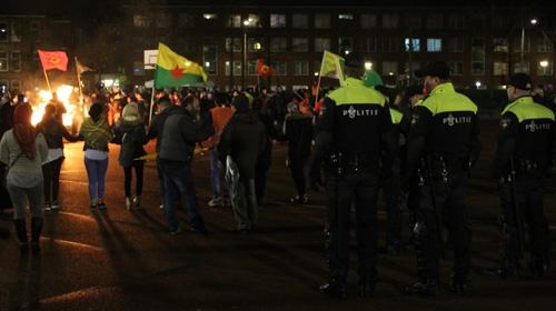 Hollanda PKKnın miting yapmasına izin verdi