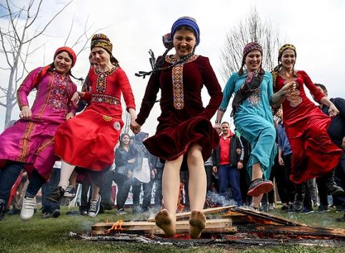 İstanbulda Nevruz Bayramı kutlandı