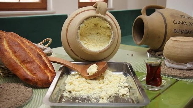 Çanak peyniri Yozgatın meşhur lezzetleri arasına katıldı