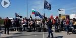 Bulgaristanda Türk karşıtı eylem! Yolları kestiler