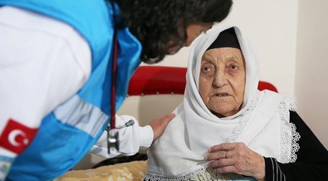 Evde sağlık hizmetinden 1 milyon kişi yararlandı