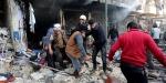 Esed rejimi sivillerin üstüne bomba yağdırdı: 8 ölü, 31 yaralı