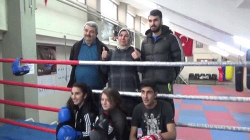 Bütün aile boksör