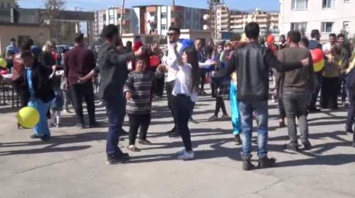 Üniversite öğrencilerinden down sewndromlu çocuklar için aktivite