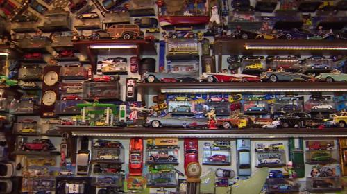 Dört duvar arasında yüzlerce oyuncak