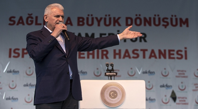 Başbakan Yıldırım: AK Parti geldi, söz verdi, yaptı