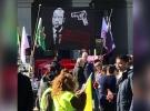 PKK'lı hainler, İsviçre'de Cumhurbaşkanı Erdoğan'ı hedef gösterdi