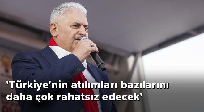 Türkiyenin atılımları bazılarını daha çok rahatsız edecek