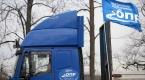 Rusyada kamyon sürücüleri gösteri düzenledi