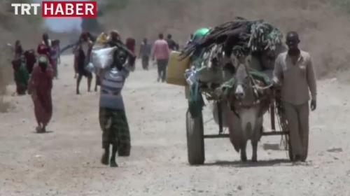 Türk Kızılayından Somaliye yardım eli