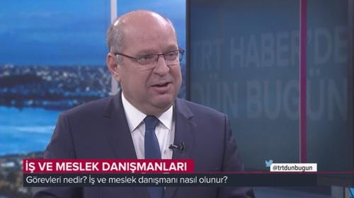 İŞKUR Genel Müdür Yrd. Kadri Kabak TRT Habere konuk oldu