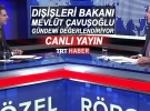 Dışişleri Bakanı Çavuşoğlu, TRT Haber'de gündemi değerlendiriyor