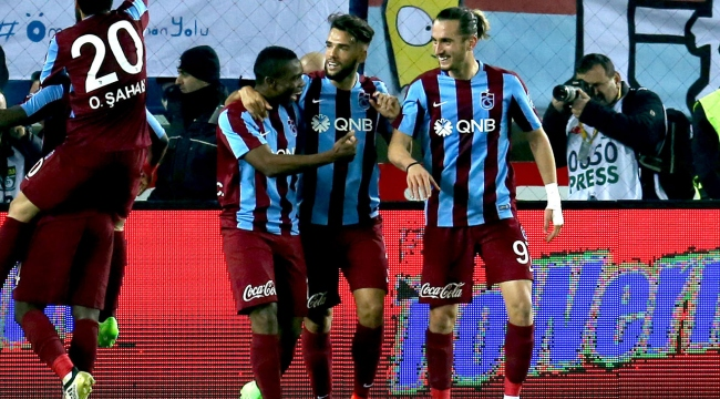 Trabzonsporun deplasmanda yüzü gülüyor