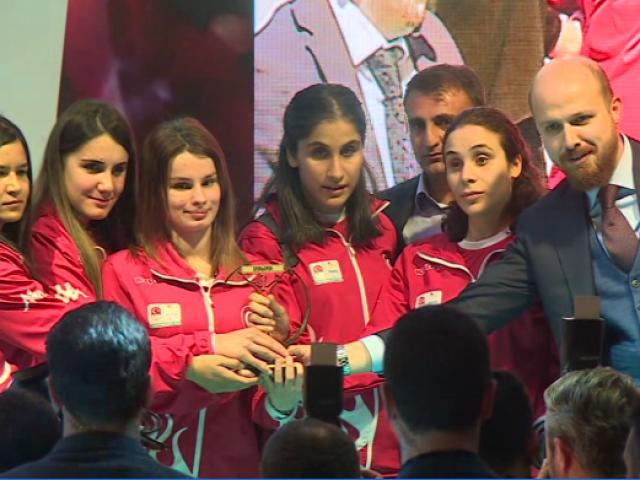 Sporun devleri Ankarada buluştu