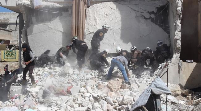 Esed rejimi sivilleri hedef aldı: 3 ölü, 8 yaralı