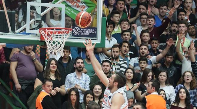 Banvit, FIBA Şampiyonlar Liginde Dörtlü Finale yükseldi