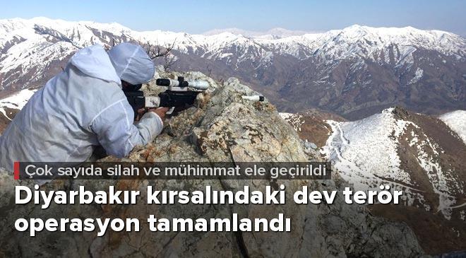 Diyarbakır kırsalındaki dev operasyon tamamlandı