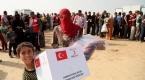 Türk Kızılayından Iraktaki 300 sığınmacı aileye yardım