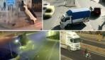 MOBESE'ye yansıyan feci kazalar