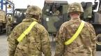 Avrupadaki ABD ordusu Polonyada yardım malzemeleri indiriyor