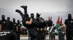 Gazzede subaylar için mezuniyet töreni