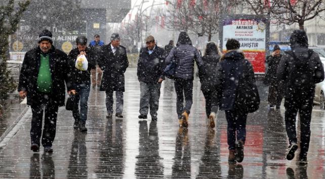 Doğuda soğuk ve yağışlı hava