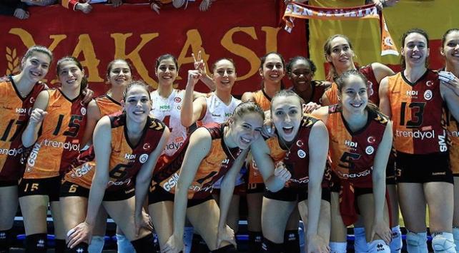 Galatasaray Kadin Voleybol Takimi Final Bileti Icin Rusya Da