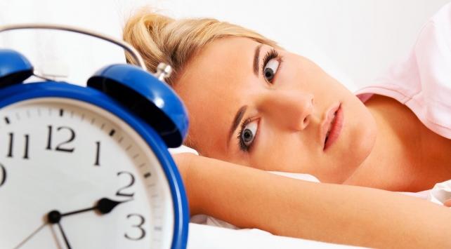 Uykunuz kaçıyorsa dikkat! Hasta olabilirsiniz