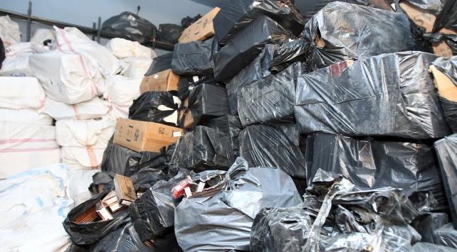 Operasyonlarda 66 bin paket kaçak sigara ele geçirildi