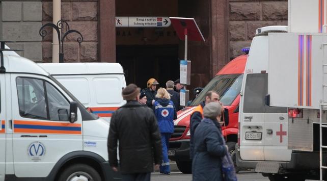 Rusyada St. Petersburg metrosunda patlama