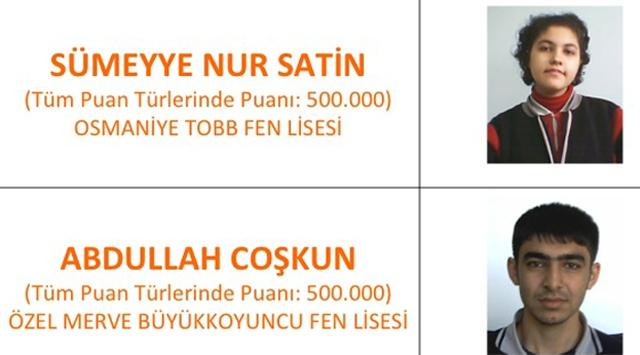 YGS Türkiye Birincisi Belli Oldu