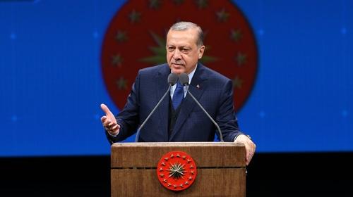 Cumhurbaşkanı Erdoğandan muhtarlar ve güvenlik korucularına müjde