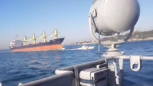 4 denizcinin şehit olduğu Boğazdaki kazanın yeni görüntüleri
