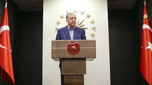 Cumhurbaşkanı Erdoğan'dan halkoylaması sonrası açıklama