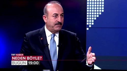 Bakan Çavuşoğlu TRT Haber'e konuk oluyor