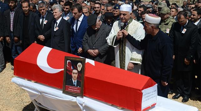 Şehit Polis Kaplan son yolculuğuna uğurlandı