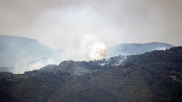 Esed rejimi Türkmendağını top atışına tutuyor