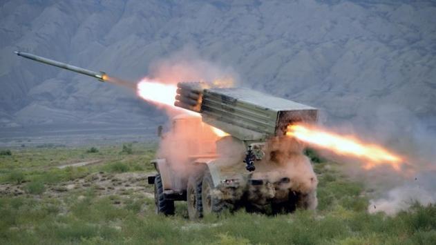 Azerbaycan ordusunun geniş çaplı tatbikatı sürüyor