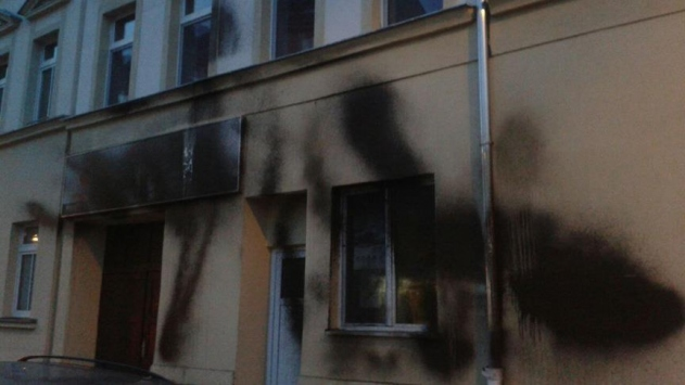 Almanyada camiye saldırı