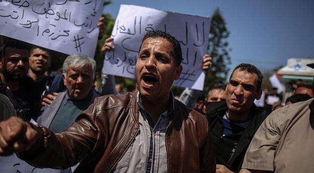 Gazzede abluka karşıtı gösteri