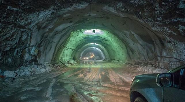 Bu tünelle 4 dakikada iklim değişecek