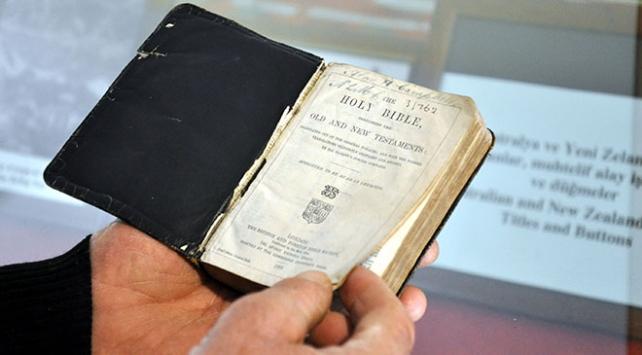 Asırlık İncil Türk çiftçiye emanet