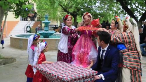 500 yıllık 4 gün 4 gecelik Çomakdağ Yörük düğünleri