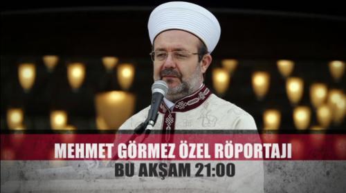 Diyanet İşleri Başkanı Görmez TRT Haberde