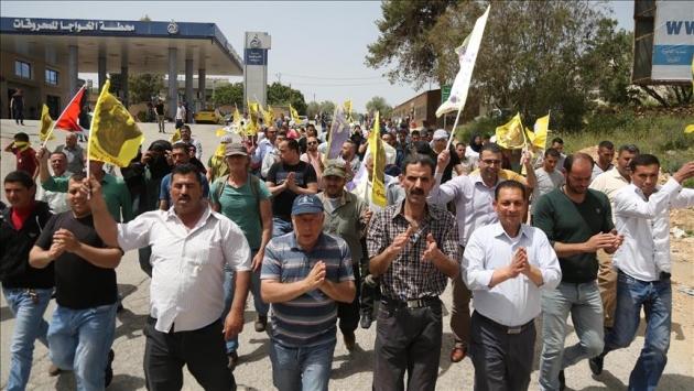 Batı Şeriadaki gösterilere müdahale