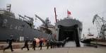 TCG Bayraktar harp gemisi Deniz Kuvvetlerine teslim edildi